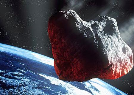 Phi thuyền chặn thiên thạch lao về phía trái đất