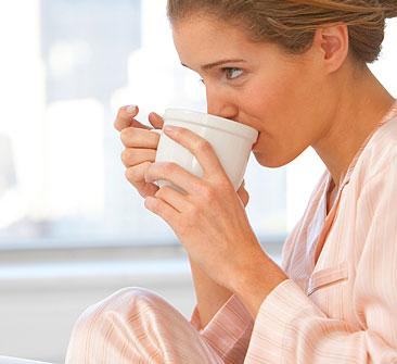 Uống cà phê