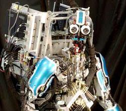Robot đóng vai thám tử hình sự