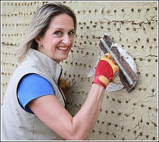 Paula Sunshine - một nữ thợ xây