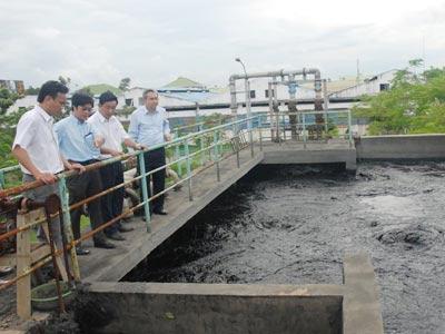 Khánh thành nhà máy xử lý nước thải tập trung