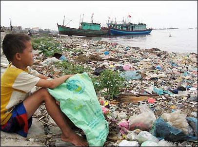 Đại dương kêu cứu bởi chất dẻo phân hủy