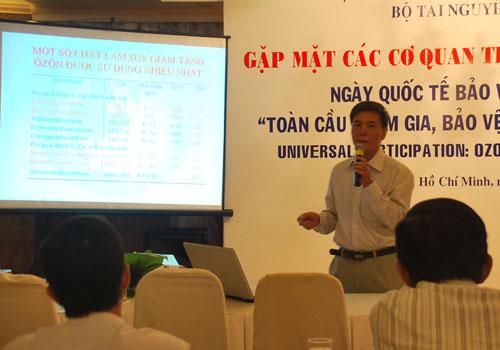 Việt Nam nỗ lực bảo vệ tầng ozone