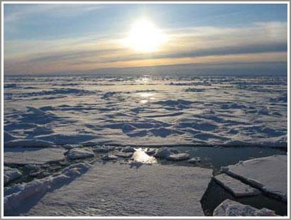Tìm thấy núi ở Bắc Cực