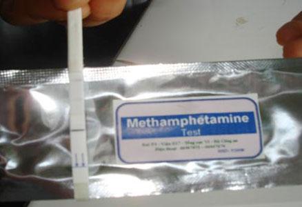 Que thử phát hiện chất ma túy trong 5 phút