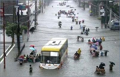 Hàng trăm người chết vì bão lụt ở Philippines