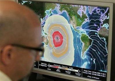 Sóng thần giết chết 34 người ở Thái Bình Dương