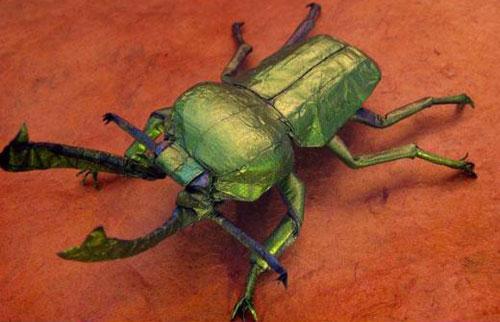 Thế giới động vật sống động trên giấy