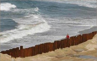 Không thể ngăn chặn sự dâng lên của biển