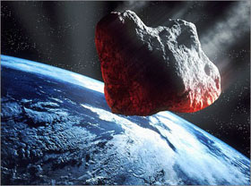 Trái Đất đang bị đe dọa bởi các thiên thạch