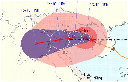 Khẩn cấp sơ tán dân trong đêm vì bão số 10