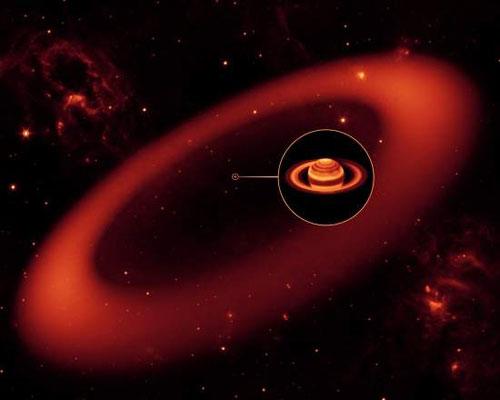 Khám phá vành đai mới của sao Thổ