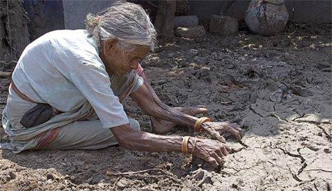Thảm họa sau lũ lụt ở Nam Ấn Độ