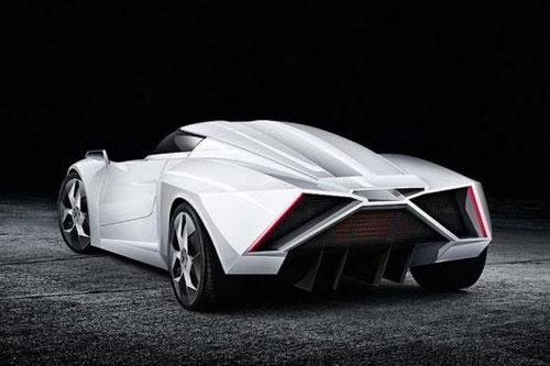 eWolf E2 - siêu xe thể thao chạy điện