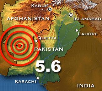 Động đất mạnh làm rung chuyển Afghanistan, Pakistan