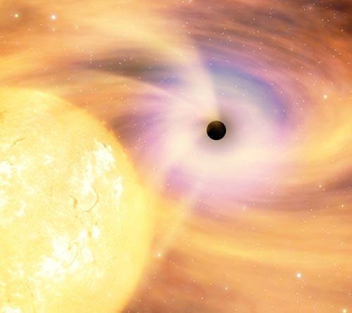 Trung Quốc tạo ra hố đen vũ trụ