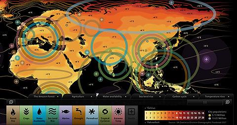 Điều chưa biết về bản đồ tương tác dự báo thảm họa