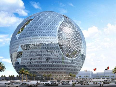 Quả cầu sinh thái sẽ 'mọc' lên giữa Dubai