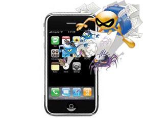 Virus đầu tiên phát tán trên iPhone