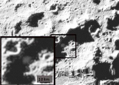 Nước thực sự tồn tại trên mặt trăng