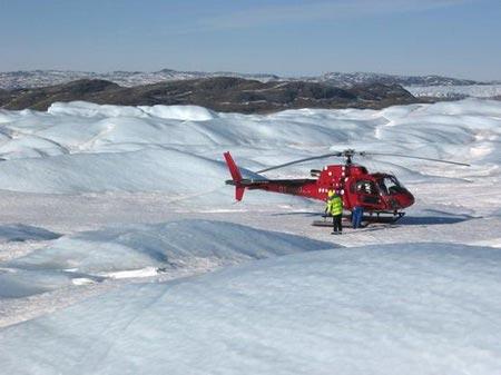 Băng Greenland tan nhanh chưa từng thấy