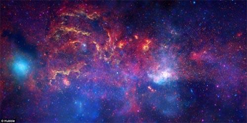Toàn cảnh vẻ đẹp rực rỡ của trung tâm Ngân Hà