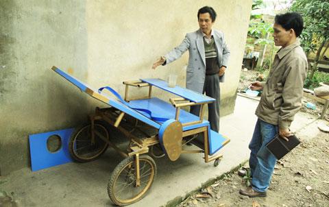 Giường đa năng cho người bại liệt