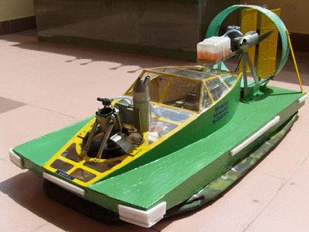 Chế tạo tàu đệm khí đầu tiên ở VN