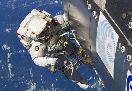 Ảnh đẹp trên trạm không gian quốc tế