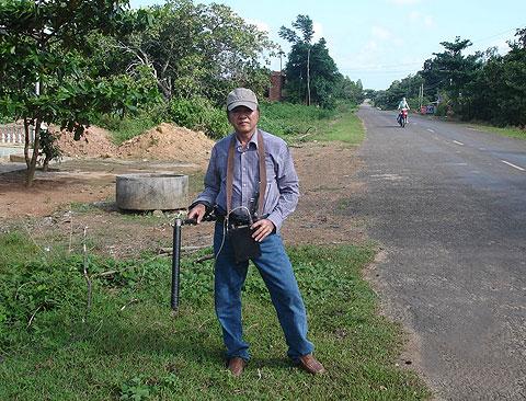 Tìm thấy nguồn nước tại Côn Đảo