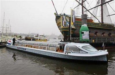 Tàu biển không cần xăng dầu