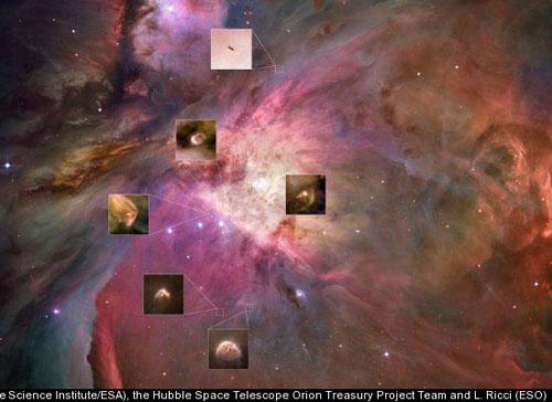 Phát hiện hệ hành tinh mới hình thành trong vũ trụ