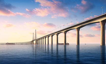 Trung Quốc xây dựng cầu xuyên biển dài nhất thế giới