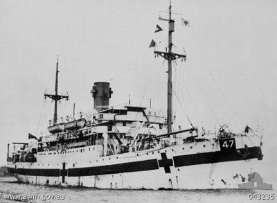 Thấy xác tàu bệnh viện đắm hồi Thế chiến II