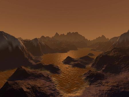 Có chất lỏng trên vệ tinh Titan của sao Thổ