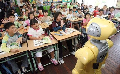 Hàn Quốc: robot dạy tiếng Anh