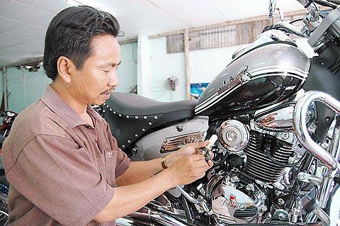 Bộ tiết kiệm xăng cho xe máy cũ