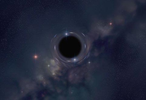 Trái đất gần hố đen hơn dự đoán