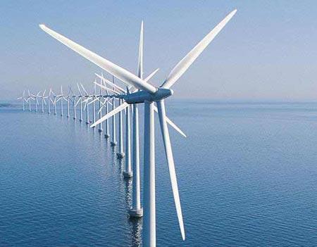 """'Siêu mạng điện"""" chia sẻ năng lượng gió đại dương"""