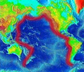 Vành đai lửa Thái Bình Dương đồng loạt lên tiếng