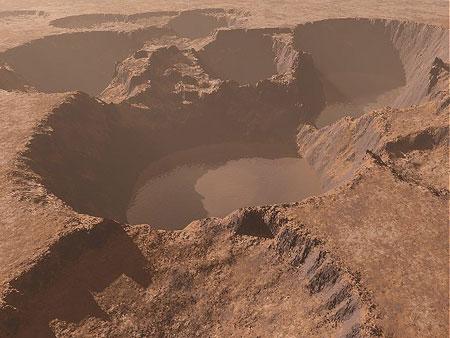 Sao Hỏa có nước cách đây 3 tỷ năm
