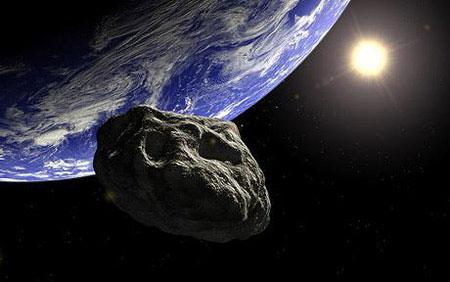 Vật thể bí ẩn bay sát trái đất