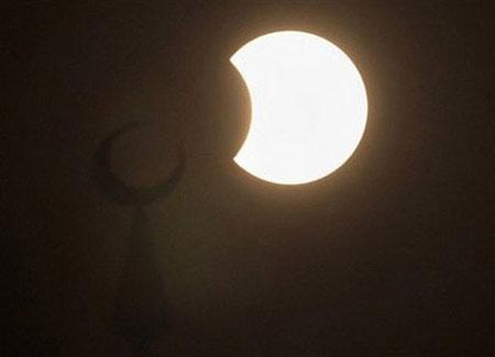 Hình ảnh ấn tượng về nhật thực dài nhất 1.000 năm