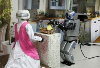 Robot giúp việc