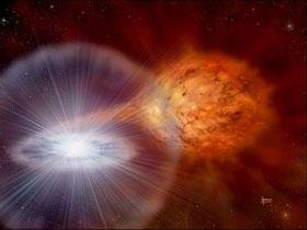 Phản vật chất không kiểm soát gây nổ các chùm sao