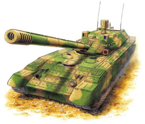 Những dự đoán về 'siêu xe tăng' T-95