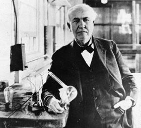 """Chuyện ngộ nghĩnh về """"thầy phù thủy"""" Edison"""