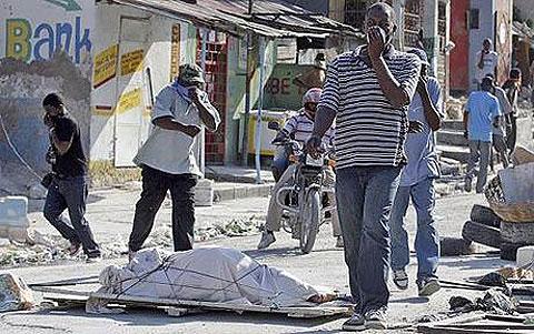 Tử thi ở Haiti có tăng nguy cơ bệnh tật?