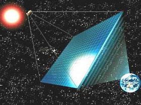 EADS Astrium xây nhà máy điện mặt trời trên vũ trụ