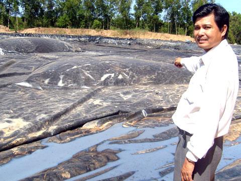 Tạo biogas từ nước thải nhà máy tinh bột mì